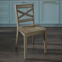 Mountain Lodge Pair of Dining Chairs ,