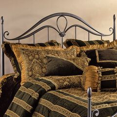 King Headboard with Headboard Frame, 71½'Lx80'Wx56'H,
