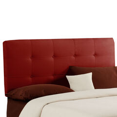 "Queen Size, 62""Lx4""Wx51-54""H, RED"