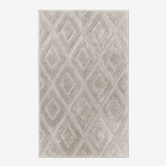 Diamond Bath Rug Collection, LINEN