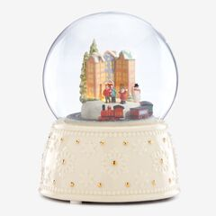Lenox® Musical Animated Holiday Train Globe,