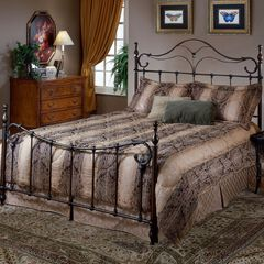 Queen Bed with Frame, 83½'Lx62¼'Wx57¼'H,