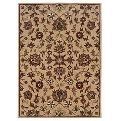 Trio Traditional Gold 5'X7' Area Rug,