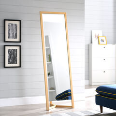 Wolbets Natural Full-Length Dressing Mirror,