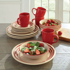 16-Pc. Dinnerware Set,
