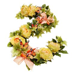 Carrot Patch 6' Garland,