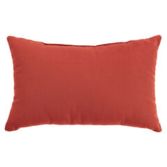 "20"" x 13"" Lumbar Pillow, GERANIUM"
