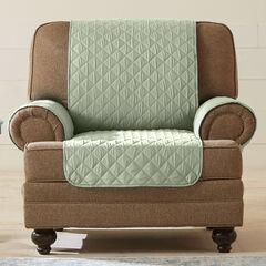 BH Studio® Water-Repellent Microfiber Chair Protector,