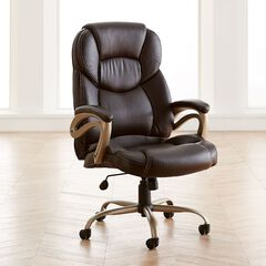 Extra Wide Memory Foam Office Chair,