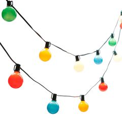 Multi-Color Globe Lights,