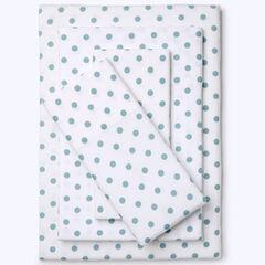 Cotton Flannel Print Sheet Set,