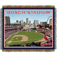New Busch Stadium Throw,