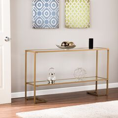 Horten Glam Narrow Console, GOLD