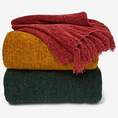 Chenille Throw,