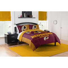 COMFORTER SET DRAFT-REDSKINS,