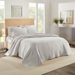 Ella European Matelassé Coverlet Set,