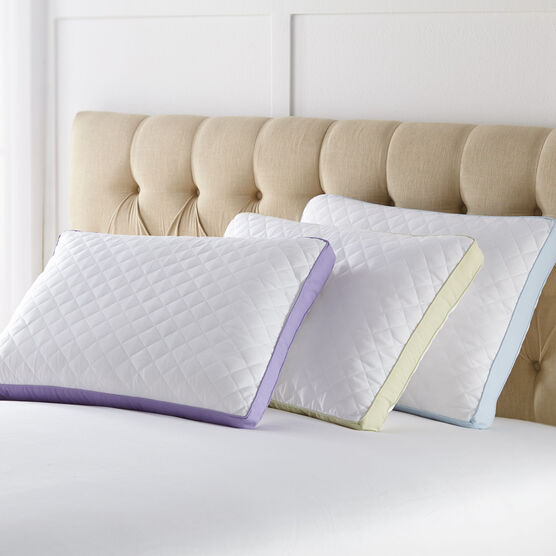 Side Sleeper Gusseted Density 2-Pack Pillows,