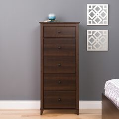 Yaletown 5-Drawer Tall Chest,