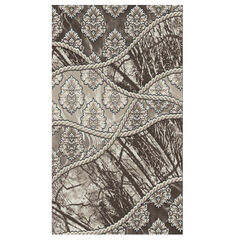 Jewel Brown 2' x 3' Area Rug,
