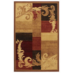 """Catalina Rug, 5'3""""x7'2"""", BROWN RED"""