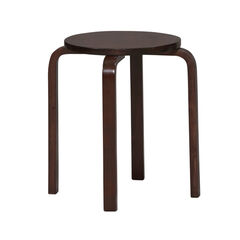 "17"" Bentwood Stool, Set of 4,"