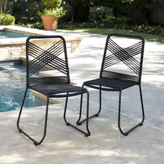 Padko Outdoor Rope Chairs – 2pc Set,