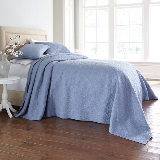 Stella Embroidered Bedspread,