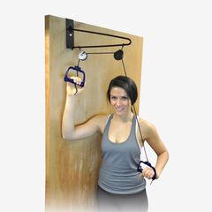 MOVE THOSE SHOULDERS™ Overdoor Pulley Exerciser,