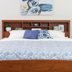 King Bookcase Headboard,