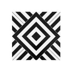 "Retro 12"" x 12"" Self Adhesive Vinyl Floor Tile - 20 Tiles/20 sq. ft., GEOMETRIC"