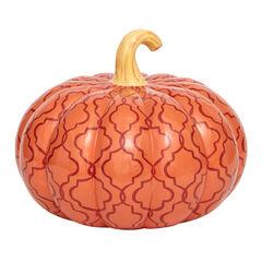 Orange Pattern Pumpkin,