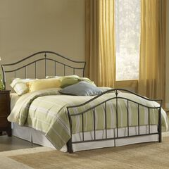 Full Bed with Bed Frame, 76'Lx56¼'Wx50½'H,