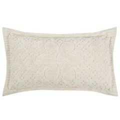 Ashton Collection Tufted Chenille Sham by Better Trends,