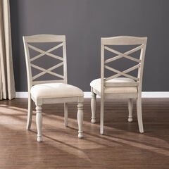 Brandsmere Upholstered Dining Chairs – 2pc Set,