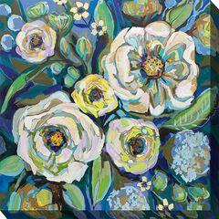 COOL BLUE OUTDOOR ART 24X24,