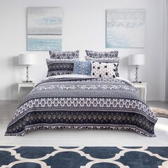 Native Indigo Quilt Set ,