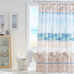 Caribbean Joe 14-Pc. Shower Curtain Sets, SEASIDE