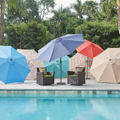 9' Tilt-and-Crank Umbrella,