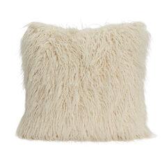 Solid Flokati Pillow,
