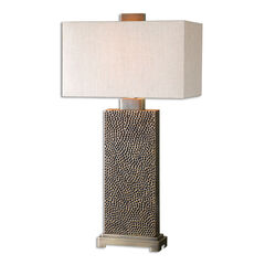 Canfield Coffee Bronze Table Lamp,