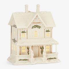Lenox® Holiday Village Victorian House Light-Up Figurine,