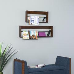 Achaz Wall Shelves – 2pc Set,