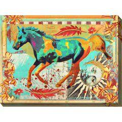 Galloping Horse Outdoor Wall Art,