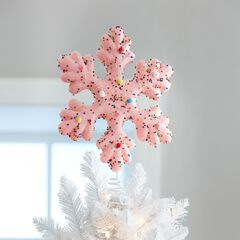 Candy Snowflake Tree Topper,