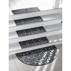Recycled Rubber Stair Treads, Set of 4,