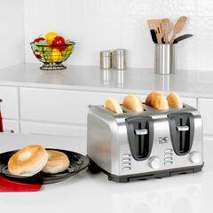 Kalorik 4 Slice Toaster,