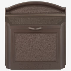 Wall Mailbox, FRENCH BRONZE