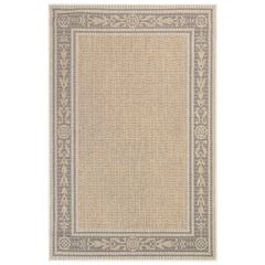 "Liora Manne Carmel Ancient Border Indoor/Outdoor Rug 23""X7'6"","