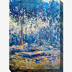 River Blue Wall Art,