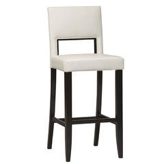 "Vega Bar Stool 30"", ESPRESSO WHITE"